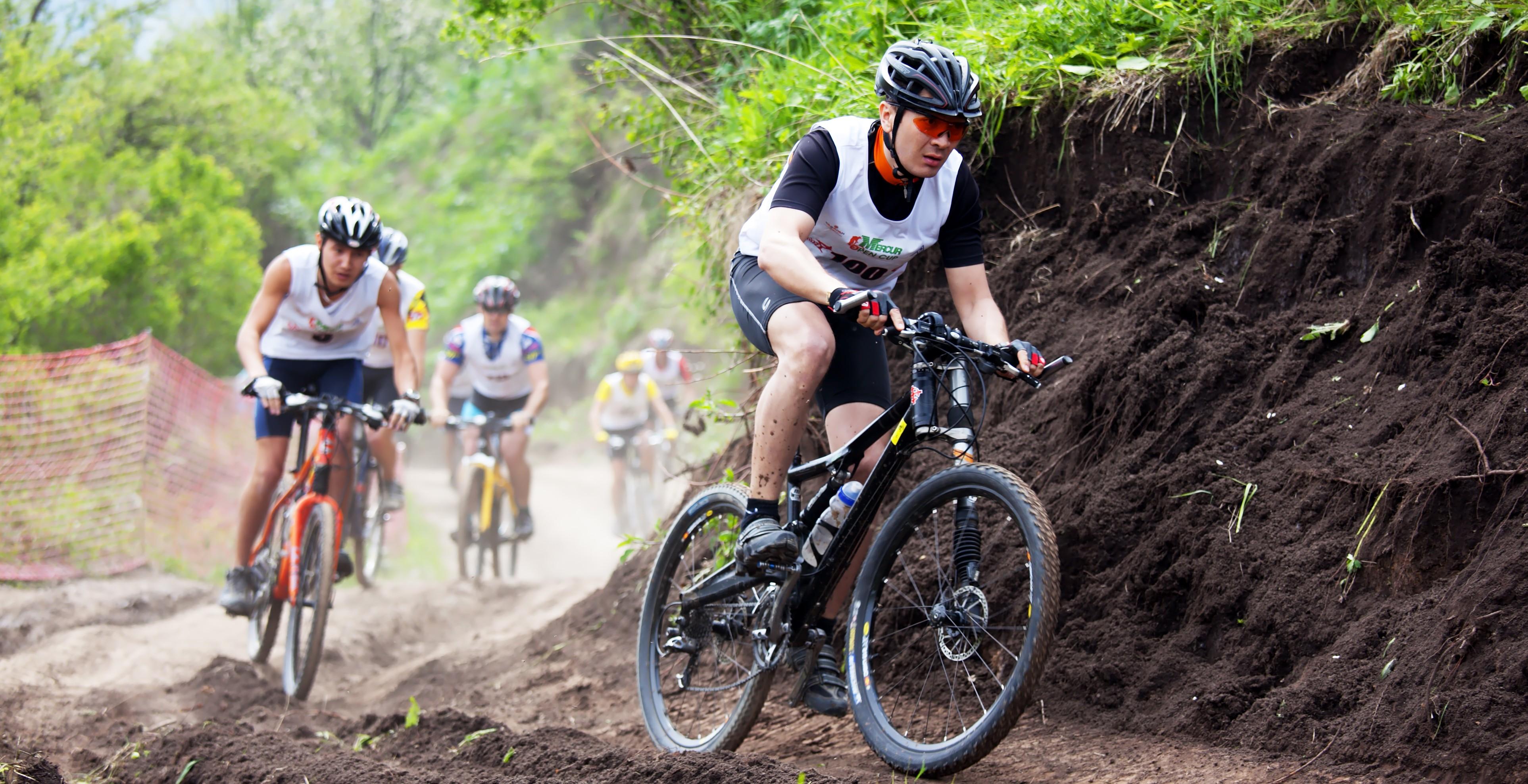 Mountain bike cross-country photo
