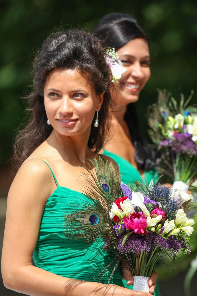 Leez Priory Wedding, Essex Wedding photographer, Bridesmaid