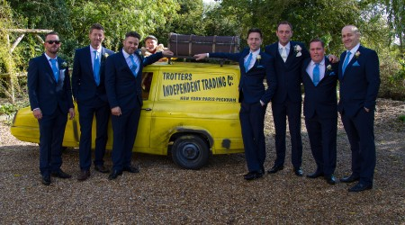 Essex Wedding Photography, Only fools and horses, del boy