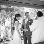 High House Gazebo, Outside Wedding Ceremony