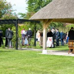 High House Gazebo, Lawn , Wedding Reception