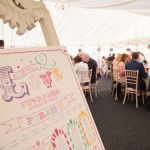 Wedding breakfast, marquee