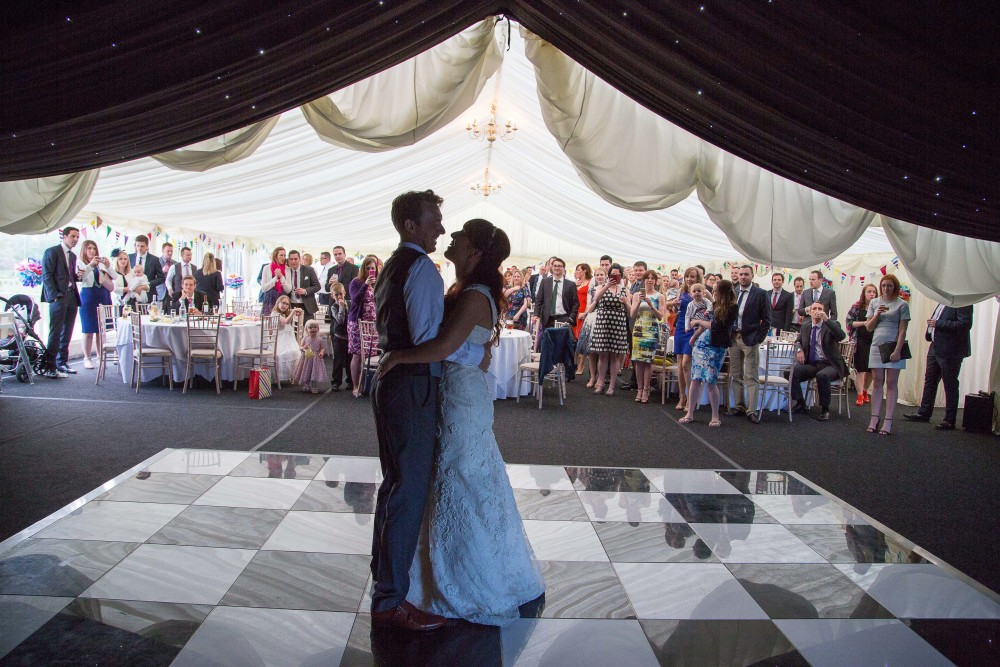 High House Weddings, First Dance Photographer, Marquee
