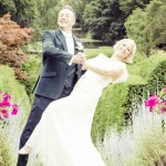 Dancing Wedding Couple, Essex, Hedingham Castle, Garden, Photography