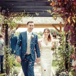 High House Weddings - Confetti shot