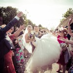 Channels Estate, Wedding Confetti, Essex Photographer