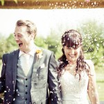 High House Essex, Confetti Photograph