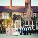 Pontland Park, Chelmsford wedding, group photo