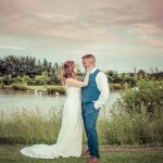 Wedding couple at High House