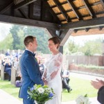 Outdoor ceremony, gazebo wedding