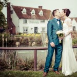 Bride and groom, channels estates, essex wedding