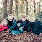 Family woodland photoshoot