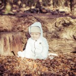 Woodland cute baby photo