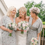 Wedding bouquet; bridesmaids, bride