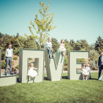 Wedding Party, Love sign, Channels Estate