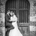 Wedding couple photo, Rayleigh Church, Archway