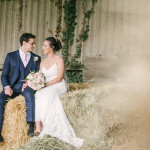 Wedding Couple, Hay barn