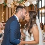 First Kiss, Wedding kiss