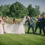 Bridal Party, fun wedding photo