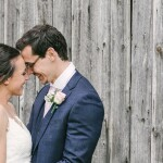 Wedding moment, Bridal couple laughing