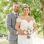 Wedding portrait, wedding couple