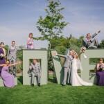 Love letters, Channels Estate wedding