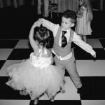 Wedding reception, children dancing